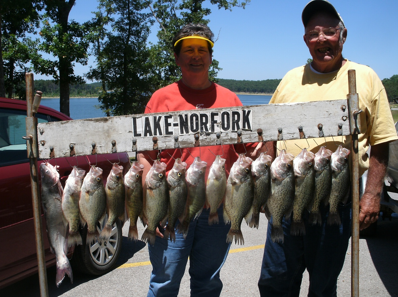 Ruth and Truman Smith From Cape Girardeau, Missouri With Some Nice ...