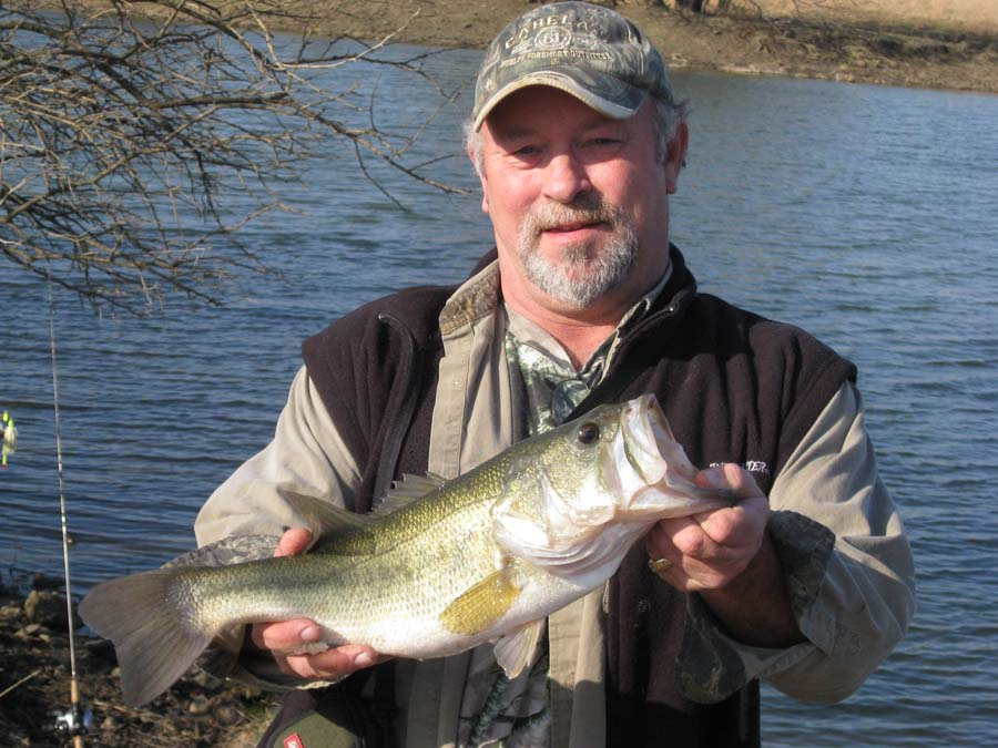 Kansas fishing report reports from anglers jan mar 2009 for Kansas fish records