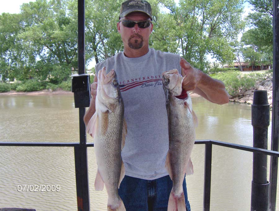 Kansas fishing report reports from anglers download pdf for Fishing report kansas