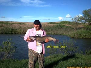 Kansas fishing report from anglers april july 2001 for Fishing report kansas