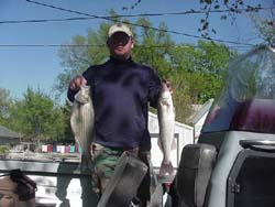 Kansas fishing report from anglers april 2002 for Cheney lake fishing report