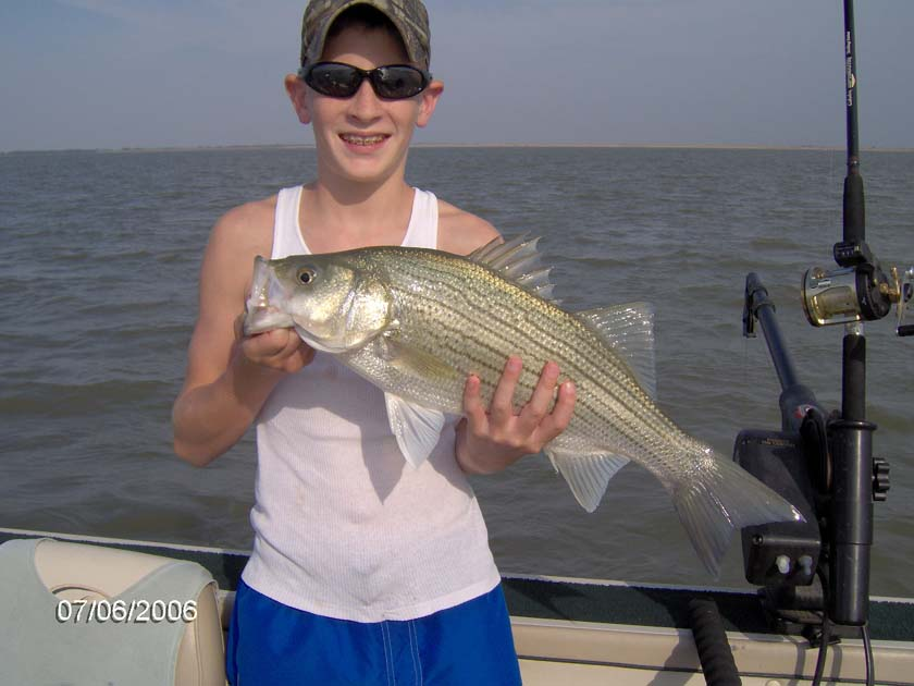 kansas fishing report reports from anglers july