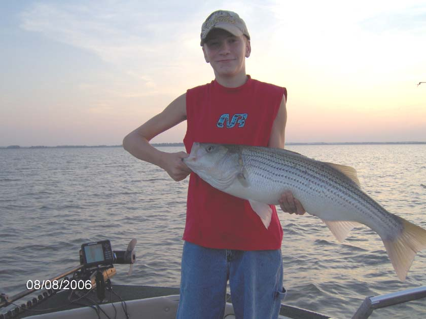 Kansas fishing report reports from anglers july for Cheney lake fishing report
