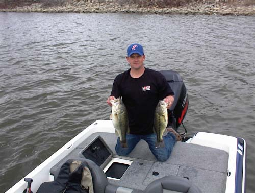 Kansas fishing report reports from anglers first for Fishing report kansas