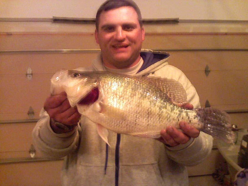 Kansas fishing report reports from anglers january for Fishing report kansas
